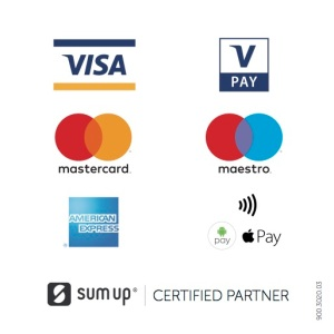 We now take credit and debit card payments